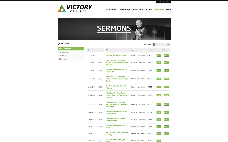 victorychurch.nu_Sermons_Portfolio