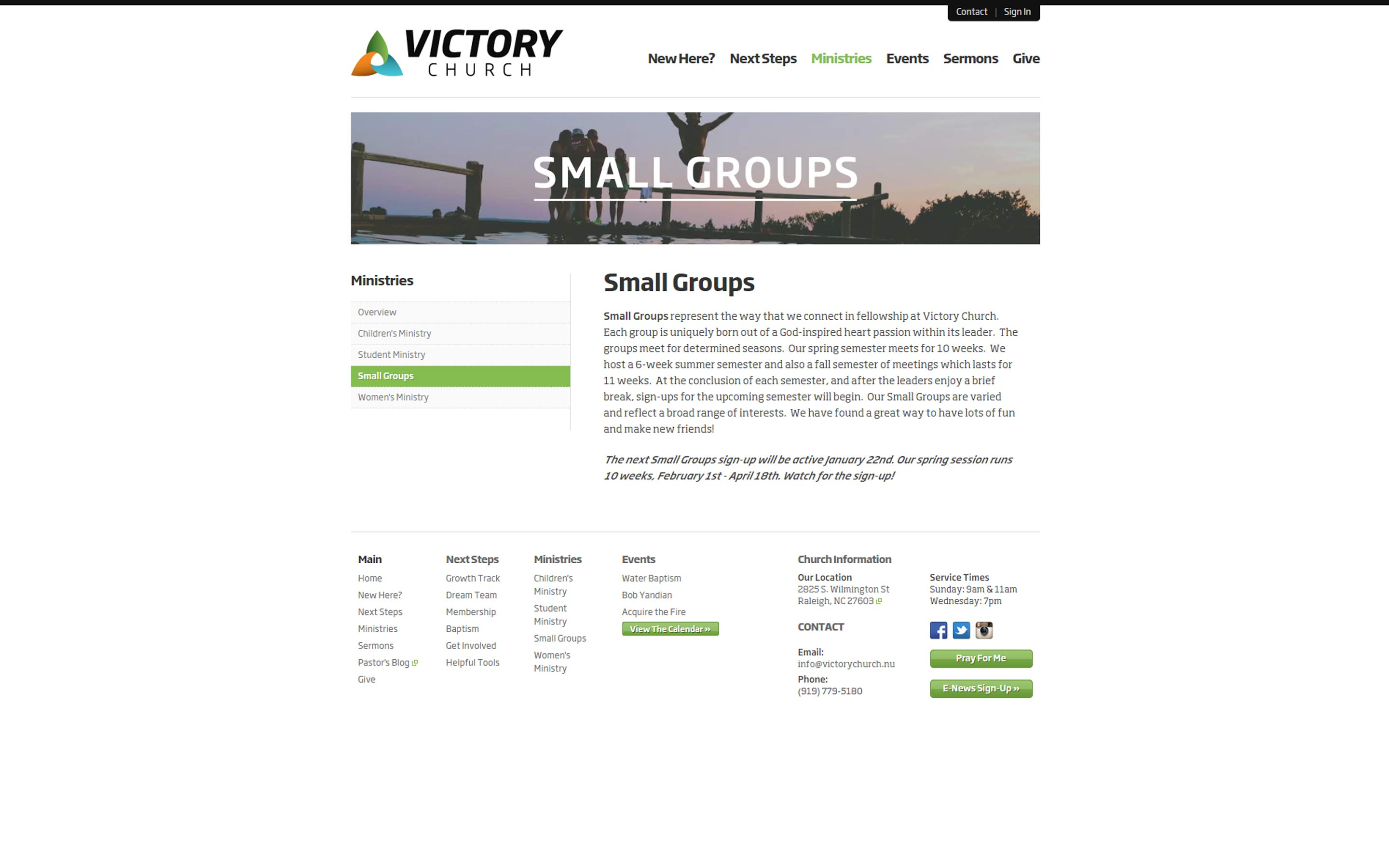 victorychurch.nu_SmallGroups_Portfolio